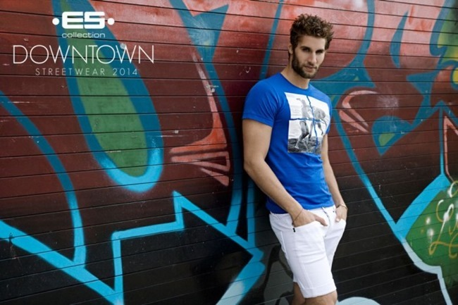CAMPAIGN Richard Rocco, Brandon Moore, Jared Prudoff-Smith & Franco Noriega for ES Collection Downtown Streetwear Summer 2014 by Rick Day. www.imageamplified.com, Image Amplified (14)