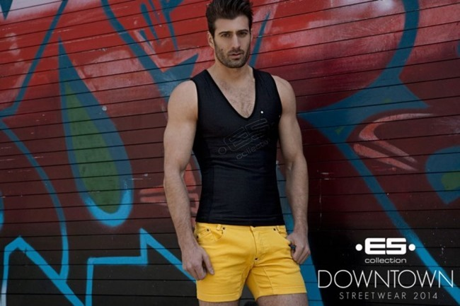 CAMPAIGN Richard Rocco, Brandon Moore, Jared Prudoff-Smith & Franco Noriega for ES Collection Downtown Streetwear Summer 2014 by Rick Day. www.imageamplified.com, Image Amplified (15)