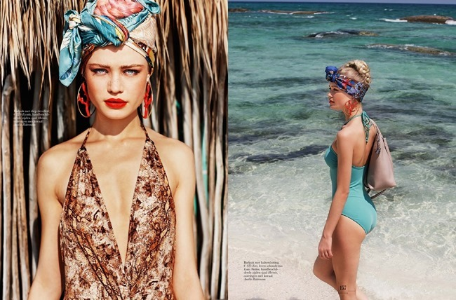 ELLE NETHERLANDS Camilla Christensen in Showkini by Paul Berends. Esther Coppoolse, June 2014, www.imageamplified.com, Image Amplified (5)