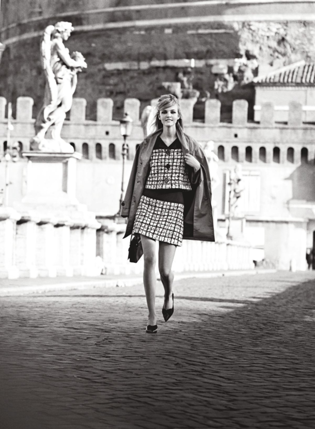 VOGUE MAGAZINE Caroline Trentini & Louis Garrel in Roman Holiday by Peter Lindbergh. Grace Coddington, June 2014, www.imageamplified.com, Image Amplified (3)