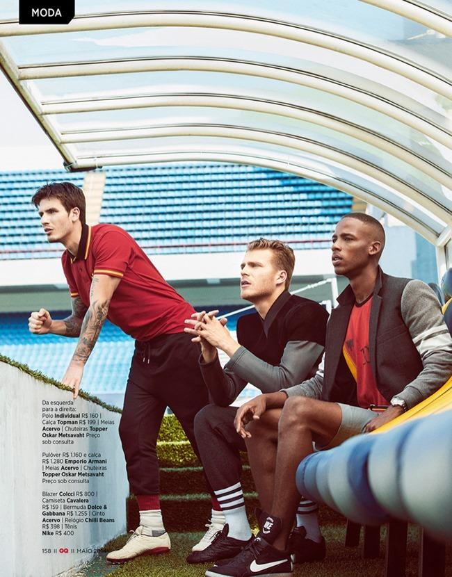 GQ BRAZIL Martin Conte, Pedro Senger, Franklin Rutz & Bruno Ventura in Fashion Champions by Yossi Michaeli. Antonio Branco, May 2014, www.imageamplified.com, Image Amplified (8)