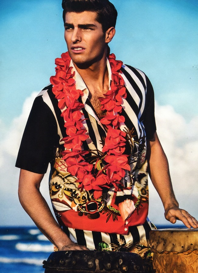 GQ SPAIN Paolo Anchisi in Aloha by Richard Ramos. Joana de la Fuente, Summer 2014, www.imageamplified.comm, Image Amplified (8)