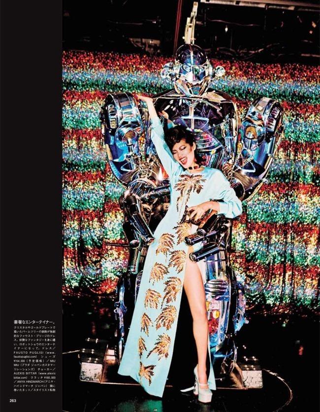 VOGUE JAPAN Tokyo Neon Girls by Ellen von Unwerth. Elizabeth Sulcer, July 2014, www.imageamplified.com, Image amplified (7)