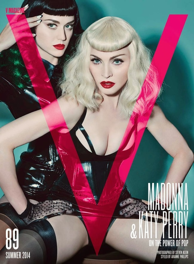 V MAGAZINE Madonna & Katy Perry in Bonding Session by Steven Klein. Arianne Phillips, Summer 2014, www.imageamplified.com, Image Amplified (9)