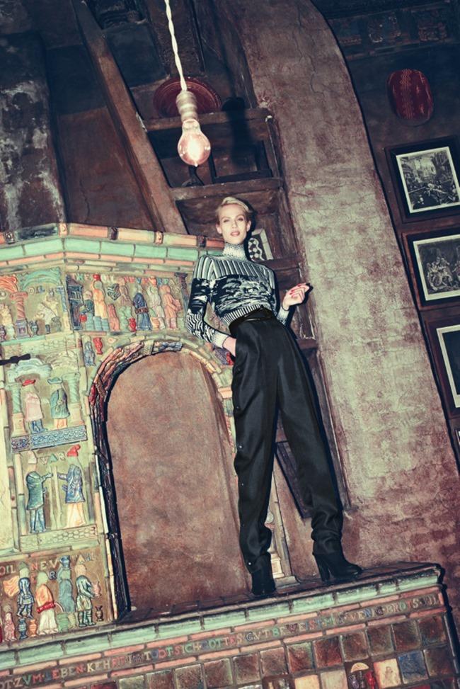 BERGDORF GOODMAN MAGAZINE Aymeline Valade by Arnaud Pyvka. Emma Sanchez, Pre-Fall 2014, www.imageamplified.com, Image Amplified (20)