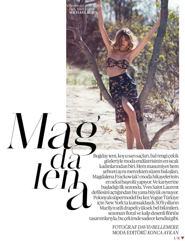 VOGUE TURKEY Magdalena Frackowiack by David Bellemere. Konca Aykan, June 2014, www.imageamplified.com, Image Amplified (11)