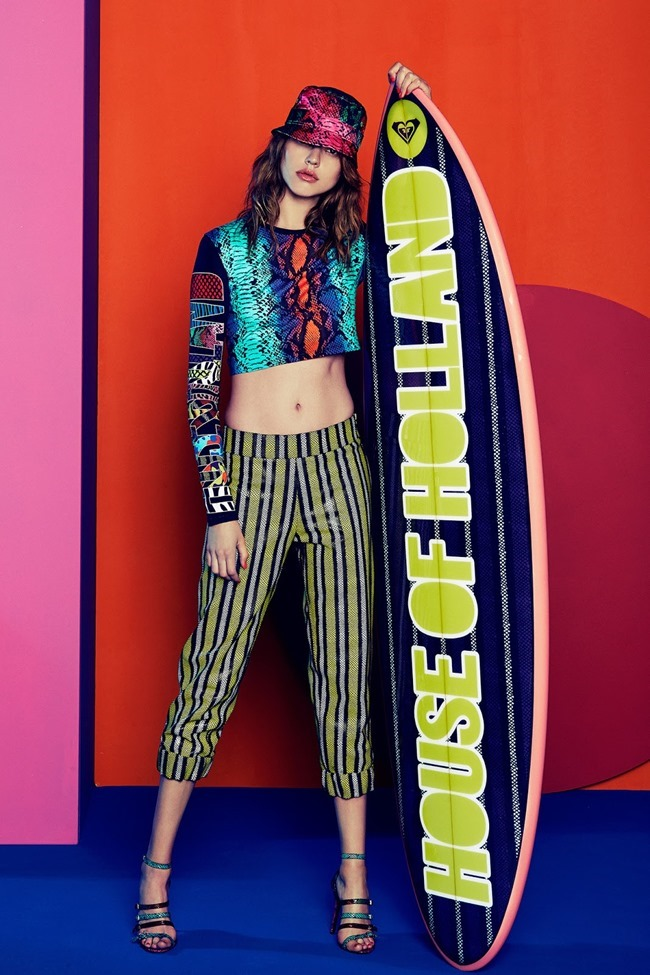 COLLECTION Josefin Gustafsson & Holly Rose for House of Holland Resort 2015. www.imageamplified.com, Image amplified (5)