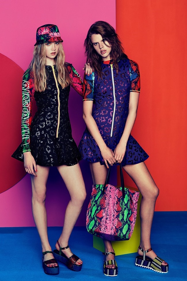 COLLECTION Josefin Gustafsson & Holly Rose for House of Holland Resort 2015. www.imageamplified.com, Image amplified (9)