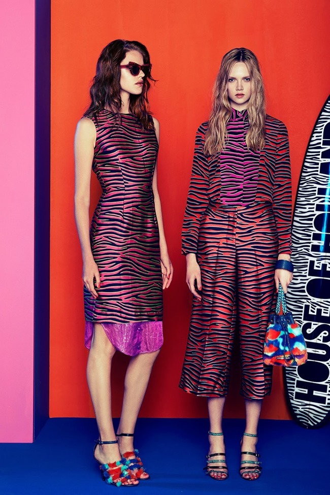 COLLECTION Josefin Gustafsson & Holly Rose for House of Holland Resort 2015. www.imageamplified.com, Image amplified (18)