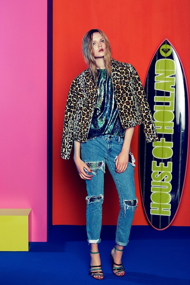 COLLECTION Josefin Gustafsson & Holly Rose for House of Holland Resort 2015. www.imageamplified.com, Image amplified (29)