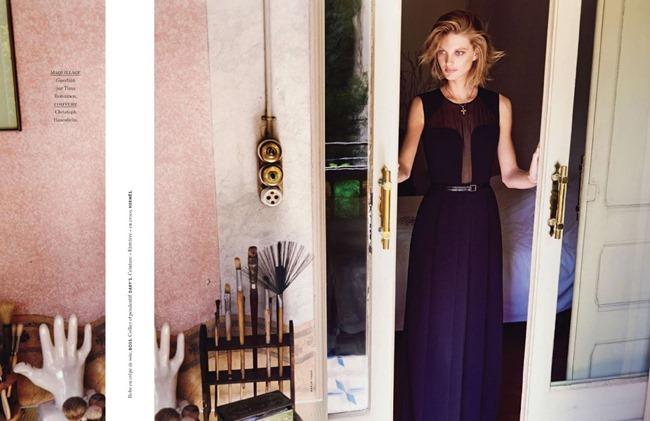 ELLE FRANCE Patricia Van Der Vliet in Une Lecon De Style Riviera by Marcin Yszka. Anne-Marie Brouillet, June 2014, www.imageamplified.com, Image Amplified (18)