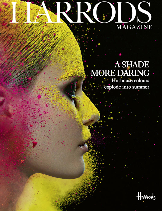 HARRODS MAGAZINE Edda Oscars in Colour Explosion by Iain Crawford. Summer 2014, www.imageamplified.com, Image Amplified (1)