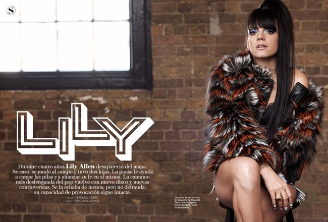 S MODA MAGAZINE Lily Allen by Eric Guillemain. May 2014, www.imageamplified.com, Image Amplified (2)
