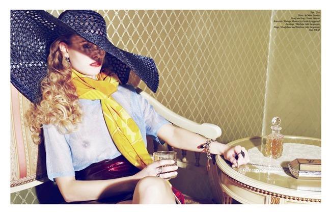SCHON! MAGAZINE Katrine in Showdown by Lea Nielsen. Mette Krogsgaard, Summer 2014, www.imageamplified.com, Image Amplified (2)
