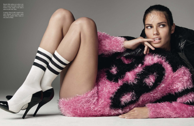VOGUE ITALIA Adriana Lima in Ridiculously Georgeous by Steven Meisel. Carlyne Cerf De Dudzeele, June 2014, www.imageamplified.com, Image Amplified (8)
