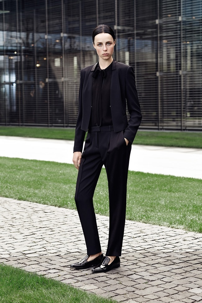 COLLECTION Edie Campbell for Hugo Boss Resort 2015. www.imageamplified.com, Image Amplified (12)