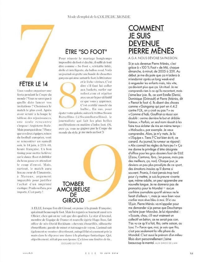 ELLE FRANCE Gisele Bundchen in L'amour Foot! by Matt Jones. Ines Nespoli, June 2014, www.imageamplified.com, Image Amplified (7)