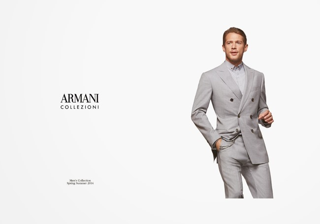 LOOKBOOK Domenique Melchior for Armani Collezioni Summer 2014. www.imageamplified.com, Image Amplified (14)
