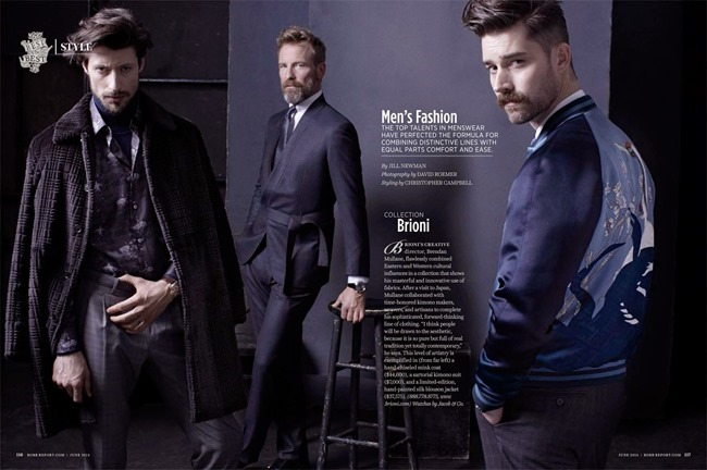 ROBB REPORT Chris Brown, Jonas Mason & Rainer Andreeson in Men's Fashion by David Roemer. Fall 2014, www.imageamplified.com, Image Amplified (12)