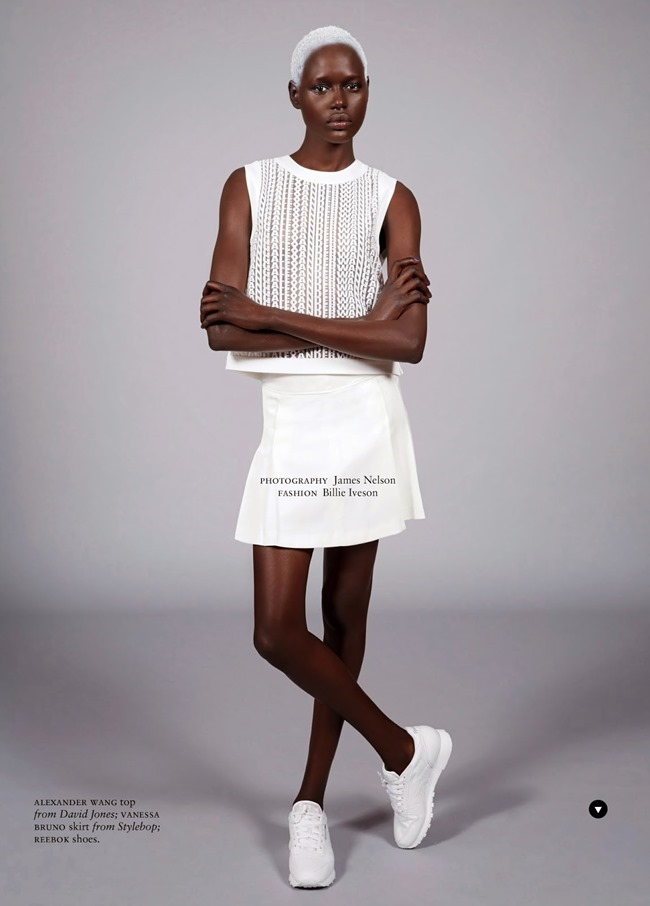 RUSSH MAGAZINE Ajak Deng in She's Got Game by James Nelson. Bille Iveson, July 2014, www.imageamplified.com, Image Amplified (13)
