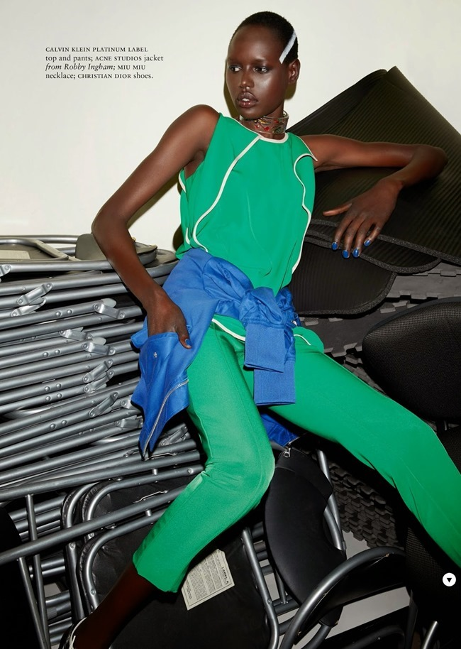 RUSSH MAGAZINE Ajak Deng in She's Got Game by James Nelson. Bille Iveson, July 2014, www.imageamplified.com, Image Amplified (3)