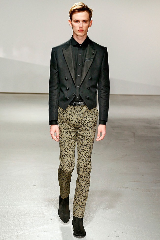 LONDON COLLECTIONS MEN Kent & Curwen Spring 2015. www.imageamplified.com, Image Amplified (4)