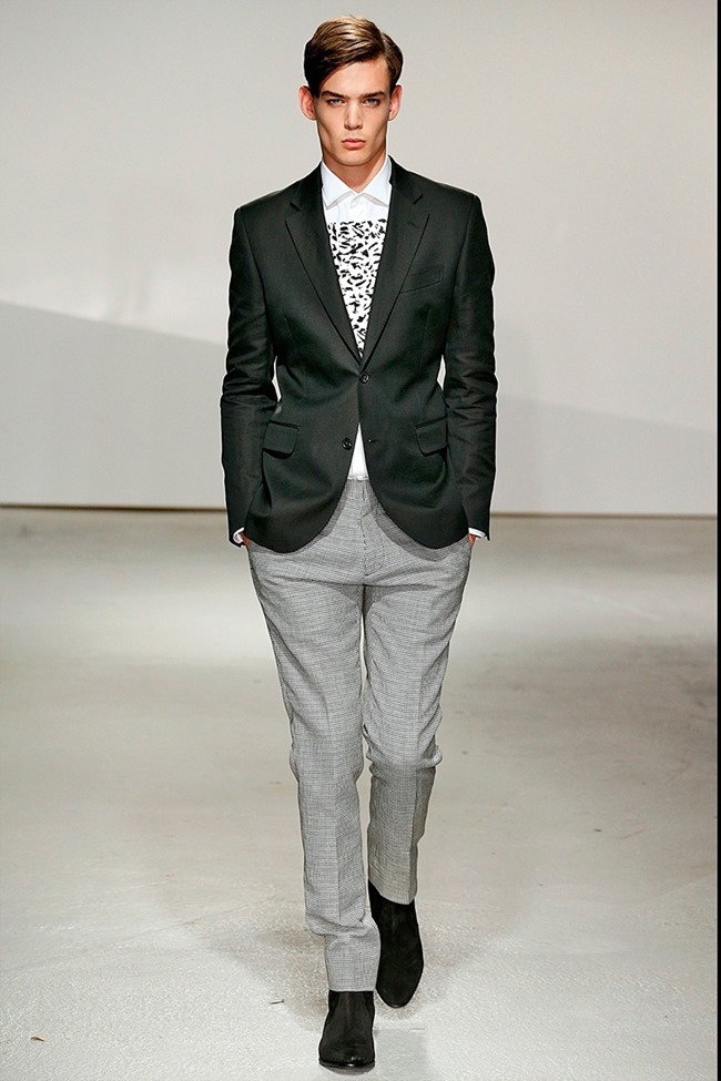 LONDON COLLECTIONS MEN Kent & Curwen Spring 2015. www.imageamplified.com, Image Amplified (11)