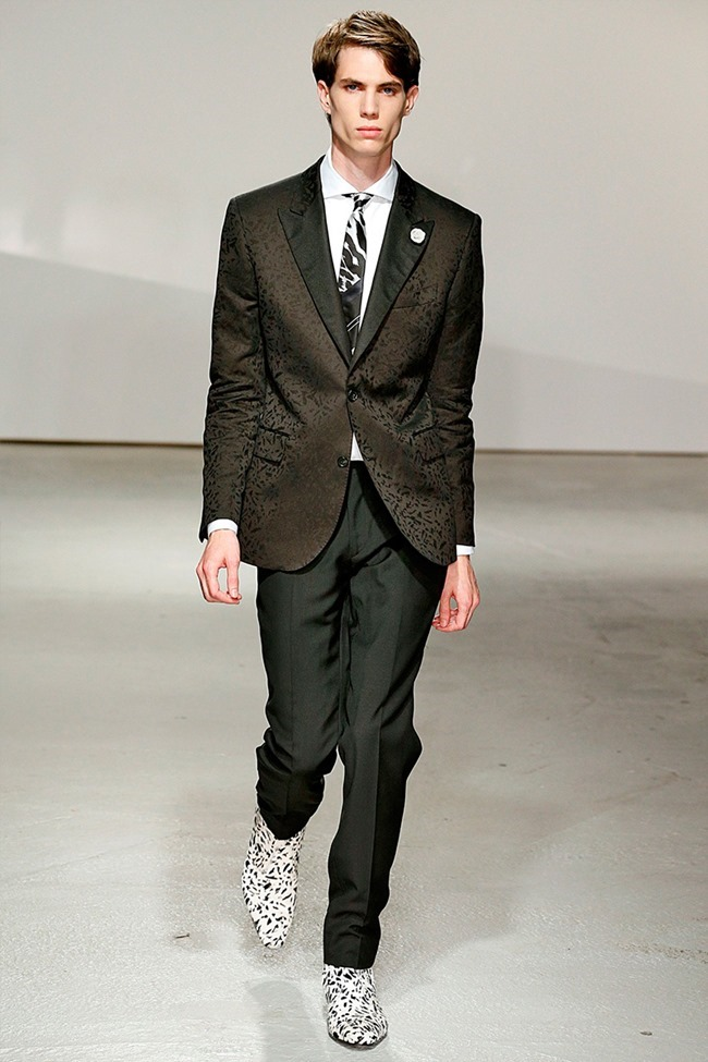 LONDON COLLECTIONS MEN Kent & Curwen Spring 2015. www.imageamplified.com, Image Amplified (16)