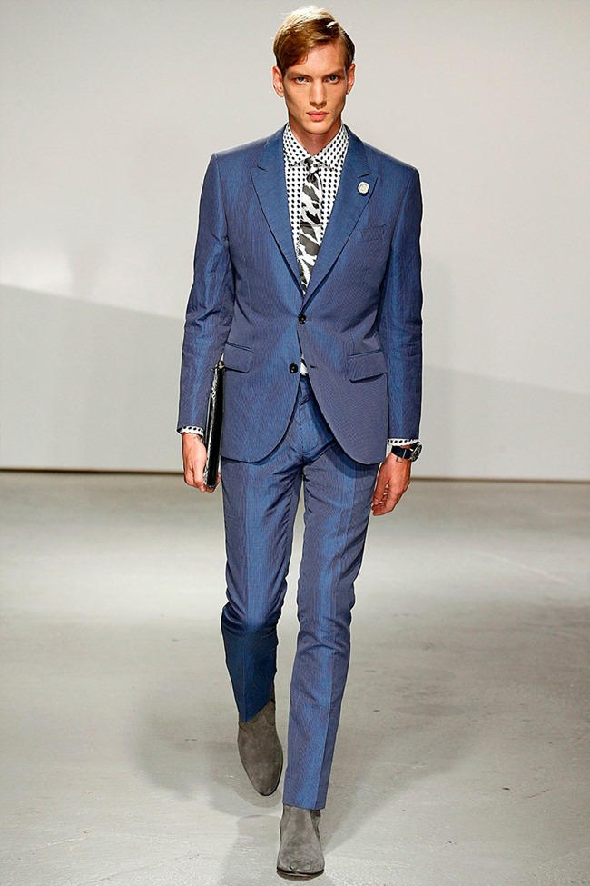 LONDON COLLECTIONS MEN Kent & Curwen Spring 2015. www.imageamplified.com, Image Amplified (23)