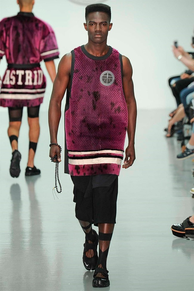 LONDON COLLECTIONS MEN Astrid Andersen Spring 2015. www.imageamplified.com, Image Amplified (3)