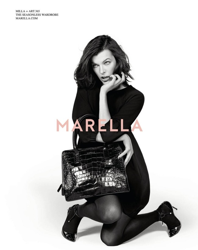 CAMPAIGN Milla Jovovich for Marella Fall 2014 by Inez & Vinoodh. www.imageamplified.com, Image Amplified (8)
