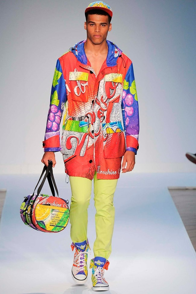 LONDON COLLECTIONS MEN Moschino Spring 2015. www.imageamplified.com, Image Amplified (30)