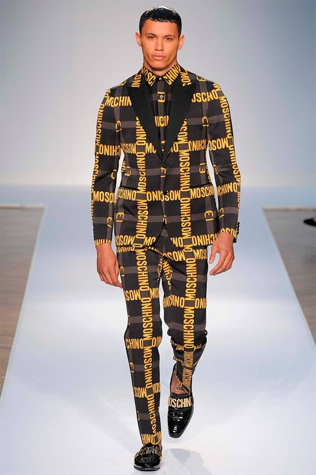 LONDON COLLECTIONS MEN Moschino Spring 2015. www.imageamplified.com, Image Amplified (5)