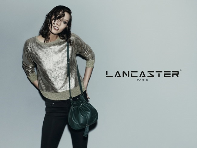 CAMPAIGN Karlie Kloss for Lancaster Paris Fall 2014 by Guy Aroch. www.imageamplified.com, Image Amplified (2)