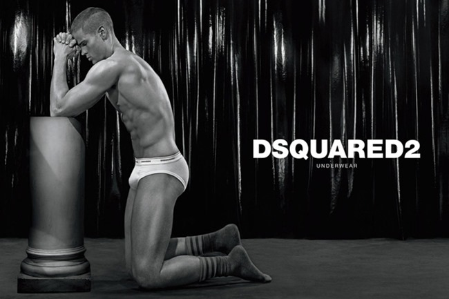 CAMPAIGN Travis Hanson, Ryan Bertroche & Rich Stinger for Dsquared2 Underwear Fall 2014 by Steven Klein. www.imageamplified.com, Image Amplified (2)