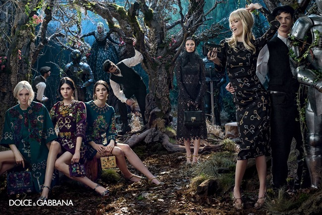 CAMPAIGN Dolce & Gabbana Fall 2014 by Domenico Dolce. www.imageamplified.com, Image Amplified (7)