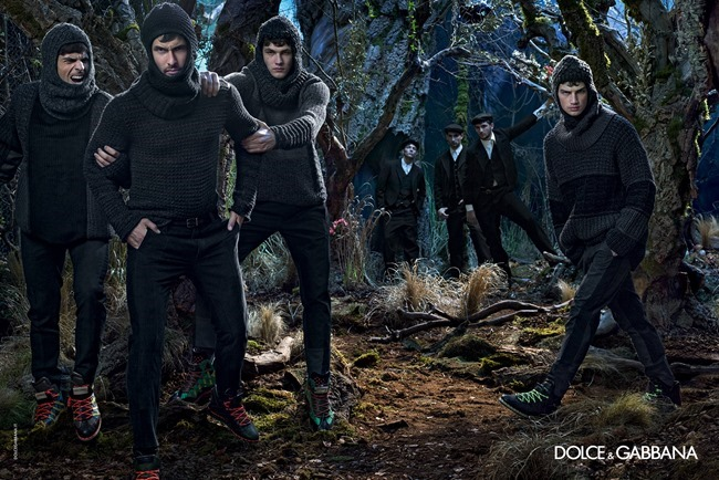 CAMPAIGN Dolce & Gabbana Menswear Fall 2014 by Domenico Dolce. www.imageamplified.com, Image Amplified (4)