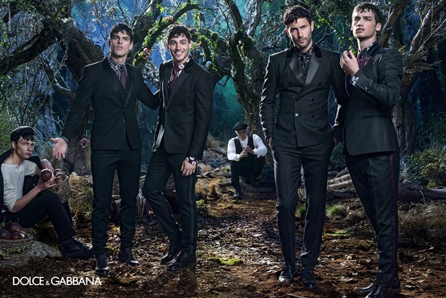 CAMPAIGN Dolce & Gabbana Menswear Fall 2014 by Domenico Dolce. www.imageamplified.com, Image Amplified (7)