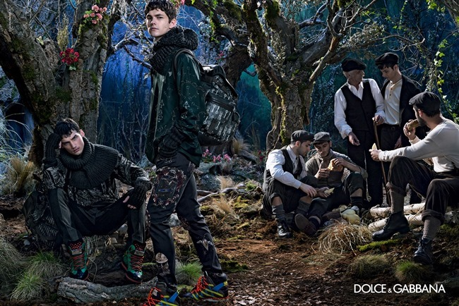 CAMPAIGN Dolce & Gabbana Menswear Fall 2014 by Domenico Dolce. www.imageamplified.com, Image Amplified (3)