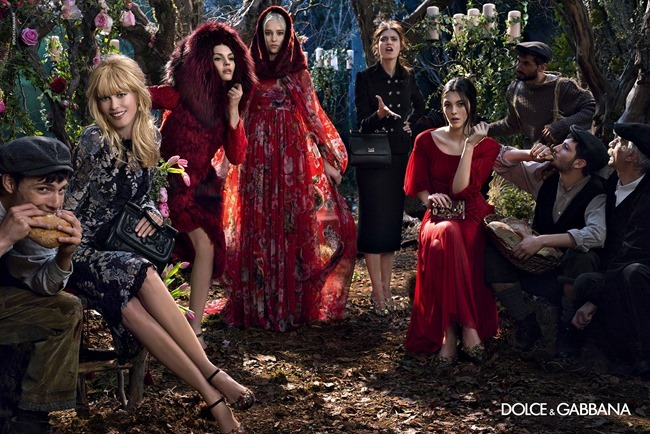 CAMPAIGN Dolce & Gabbana Fall 2014 by Domenico Dolce. www.imageamplified.com, Image Amplified (4)
