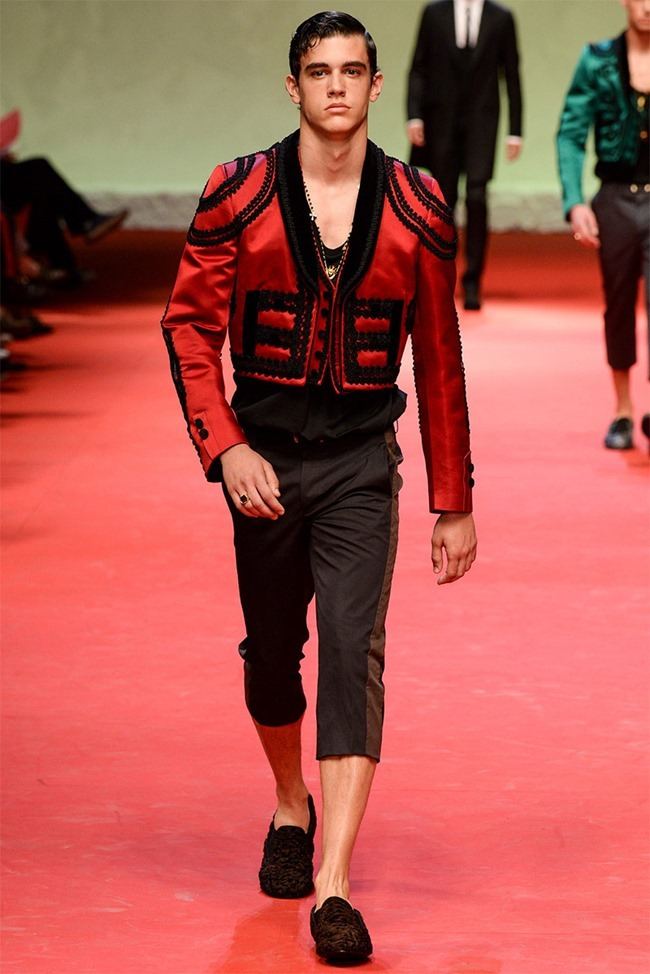 MILAN FASHION WEEK Dolce & Gabban Spring 2015. www.imageamplified.com, Image Amplified (4)