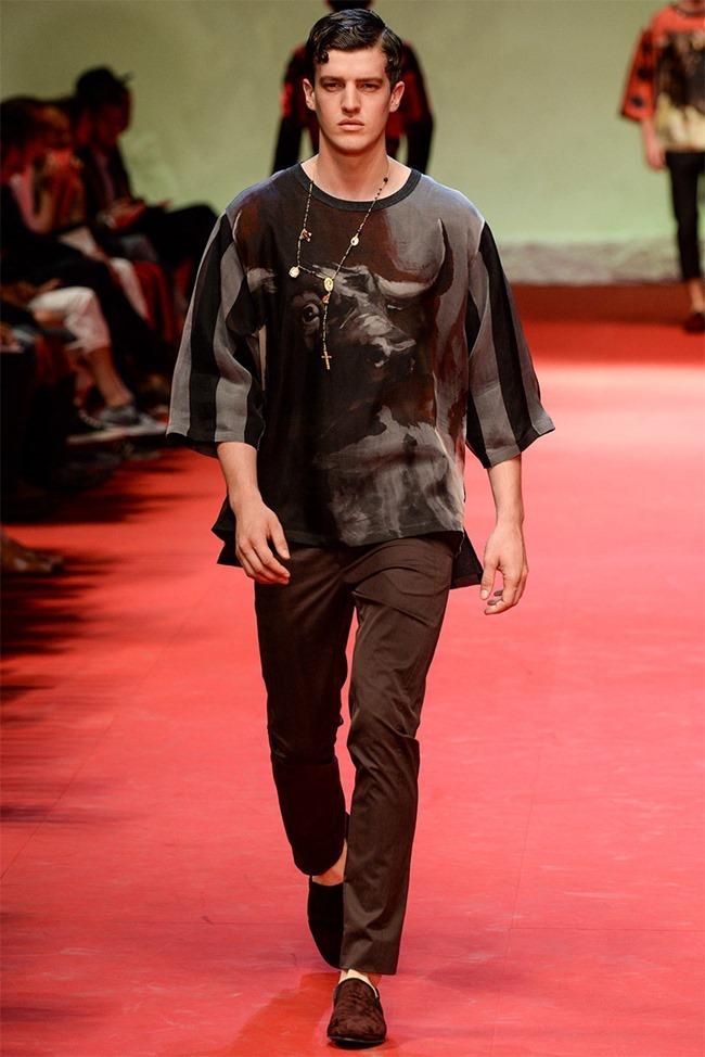 MILAN FASHION WEEK Dolce & Gabban Spring 2015. www.imageamplified.com, Image Amplified (7)