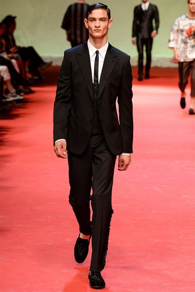 MILAN FASHION WEEK Dolce & Gabban Spring 2015. www.imageamplified.com, Image Amplified (10)