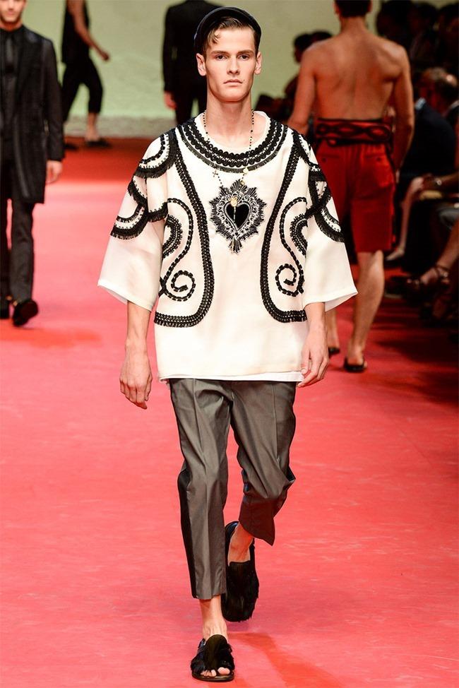 MILAN FASHION WEEK Dolce & Gabban Spring 2015. www.imageamplified.com, Image Amplified (17)