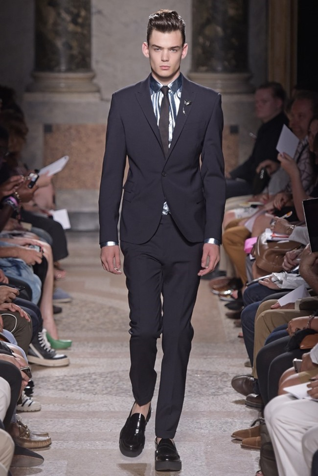 MILAN FASHION WEEK Les Hommes Spring 2015. www.imageamplified.com, Image Amplified (1)