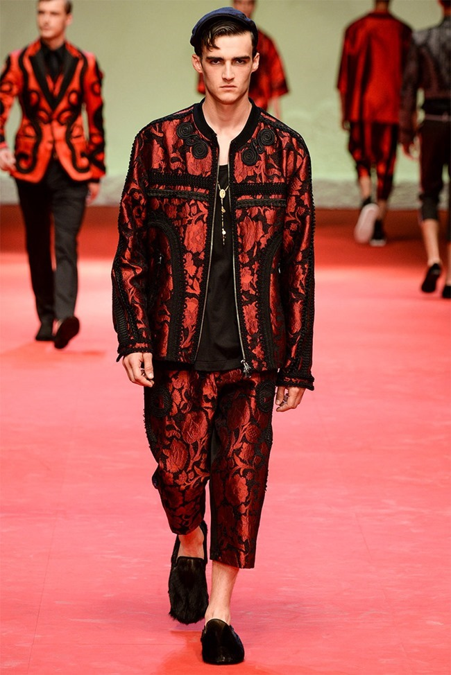 MILAN FASHION WEEK Dolce & Gabban Spring 2015. www.imageamplified.com, Image Amplified (32)