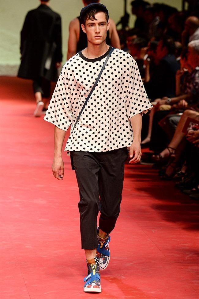MILAN FASHION WEEK Dolce & Gabban Spring 2015. www.imageamplified.com, Image Amplified (54)
