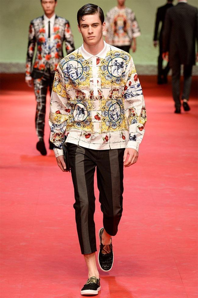 MILAN FASHION WEEK Dolce & Gabban Spring 2015. www.imageamplified.com, Image Amplified (64)