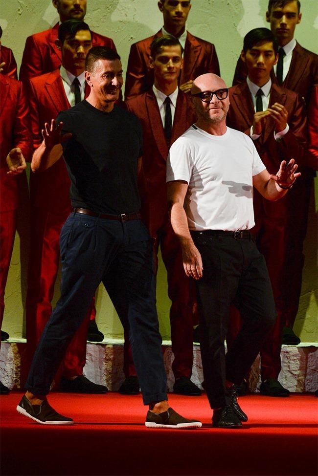 MILAN FASHION WEEK Dolce & Gabban Spring 2015. www.imag eamplified.com, Image Amplified (75)