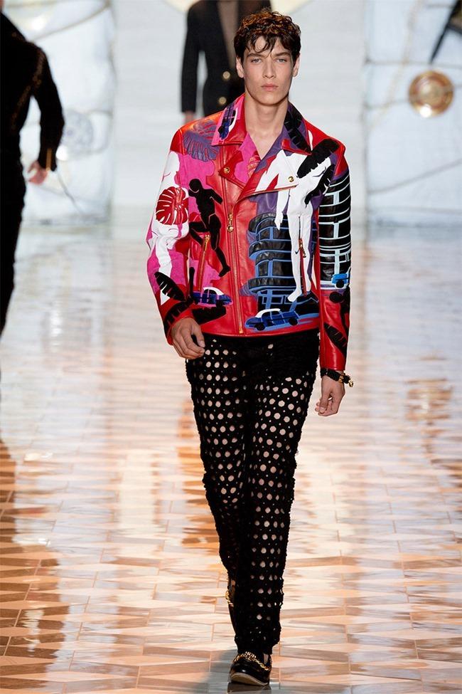 MILAN FASHION WEEK Versace Spring 2015. www.imageamplified.com, Image Amplified (40)
